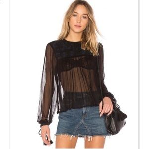 ⚡️Host Pick⚡️[Free People] Femme Blouse *FIRM*